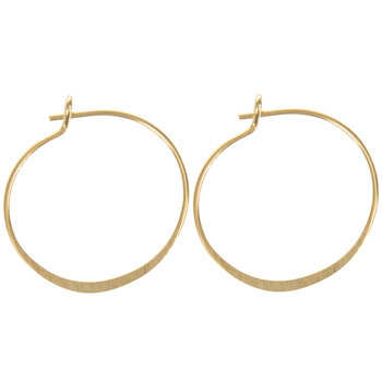 Hoop Ear Wires - 21mm