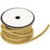 Gold Metallic Twisted Cord Trim - 5mm
