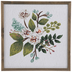 White Floral Wood Wall Decor