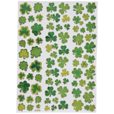 Foiled Clover Stickers