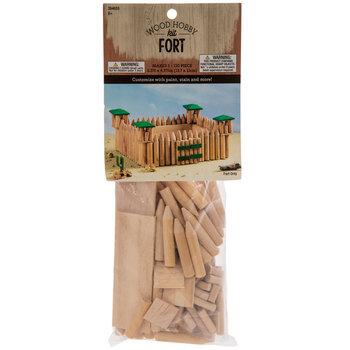 Old West Fort Wood Model Kit