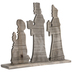 Three Wise Men Nativity Wood Decor