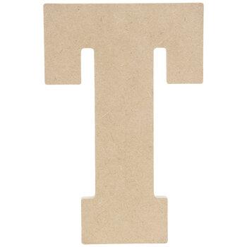 """Wood Letter T - 5"""""""
