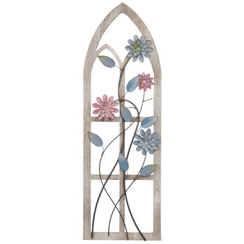 Rustic Arch With Flower Metal Wall Decor Hobby Lobby 1810654