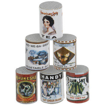 Miniature Canned Goods