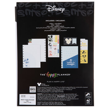 Today Is Magic Mickey Happy Planner Accessories