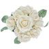 Ivory Carolina True Touch Rose Bouquet