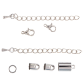 Cord End Findings Kit - 4mm - 6mm