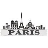 Paris Wood Wall Decor