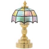 Miniature LED Tiffany Lamp