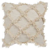 Diamond Fringe Pillow
