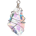 Wire-Wrapped Crystal Pendant