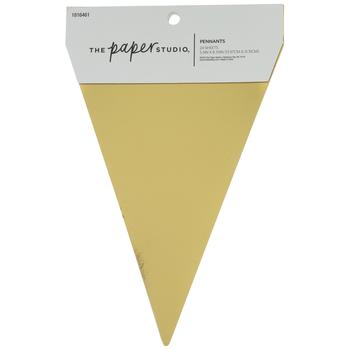 Gold Foil Pennants