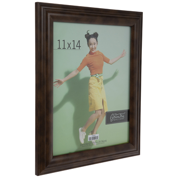 Brown Beveled Wood Wall Frame