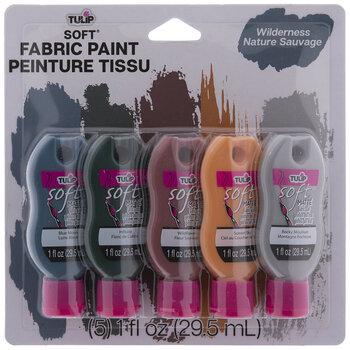 Wilderness Tulip Fabric Paint - 5 Piece Set