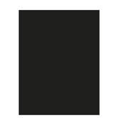 "Black Smooth Cardstock Paper - 8 1/2"" x 11"""