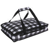 Buffalo Check Casserole Carrier Bag