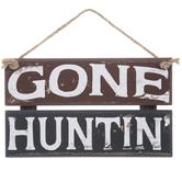 Gone Huntin' Wood Wall Decor