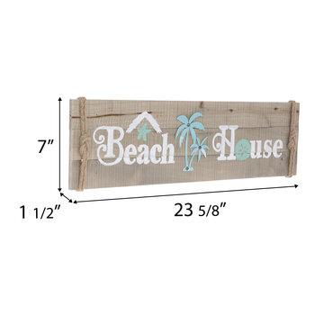 Beach House Plank Wood Wall Decor