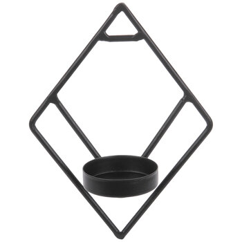 Black Diamond Mini Metal Wall Sconce