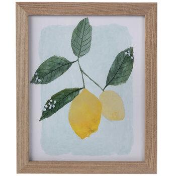Lemon Framed Wall Decor