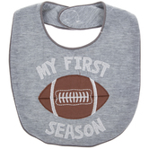 My First Football Season Baby Bib