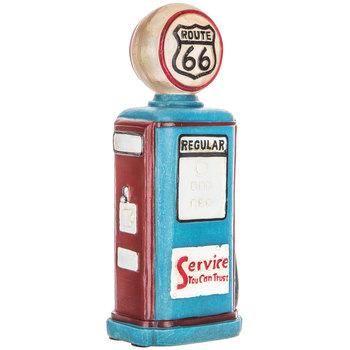 Route 66 Gas Pump Light Up Decor