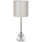 Gold & Crystal Metal Lamp