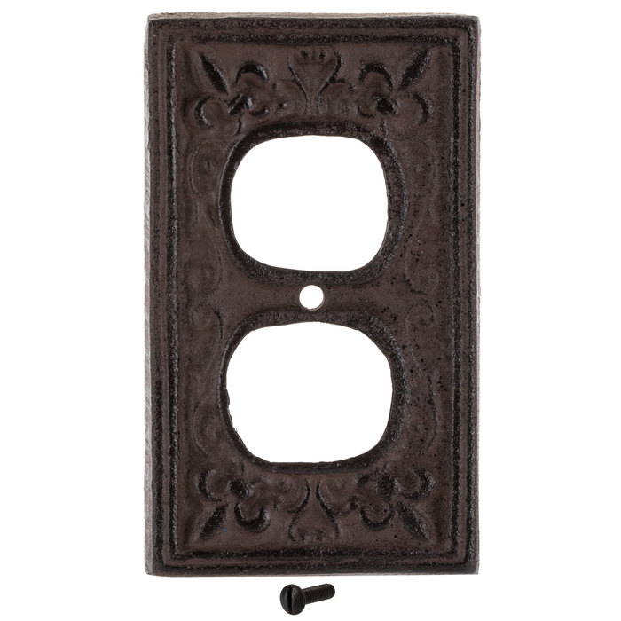 Rust Cast Iron Outlet Cover Hobby Lobby 466144