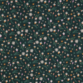 Green Multi Trendy Floral Apparel Fabric