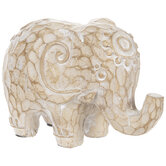 Brown Carved Elephant