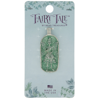Sterling Silver Plated Fairy Wishes Pendant