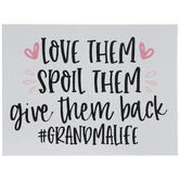 Hashtag Grandma Life Wood Decor