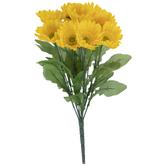 Yellow Gerbera Daisy Bush