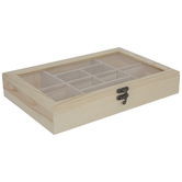 Wood Jewelry Box With Compartments