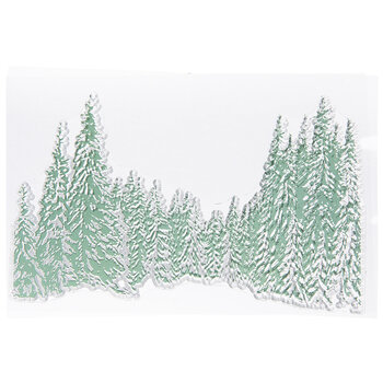Pine Trees Clear Stamp