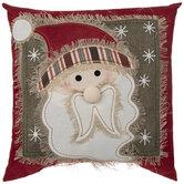 Rustic Santa Pillow