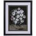 Pink & White Flower Vase Framed Wall Decor