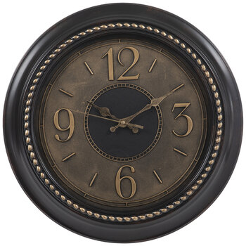 Brown Tortoise Round Wall Clock