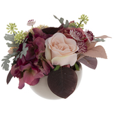 Pink Rose & Dahlia Arrangement