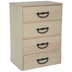 Wood Chest With Drawers