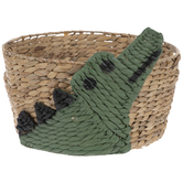 Crocodile Basket
