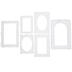 Lace Baseboard Frames