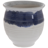 Two Tone Mini Flower Pot