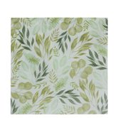Farmhouse Foliage Paper Napkins - Large