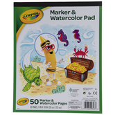 "Marker & Watercolor Pad - 8"" x 10"""