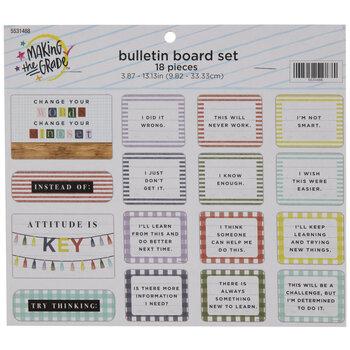 Attitude Is Key Mini Bulletin Board Set