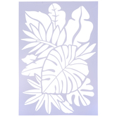 Tropical Leaves Stencil