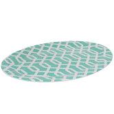 Aqua Trellis Platter