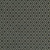 Faye Charcoal Quatrefoil Fabric